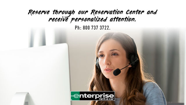 Reserve through our Reservation Center Phone: 800 737 3722