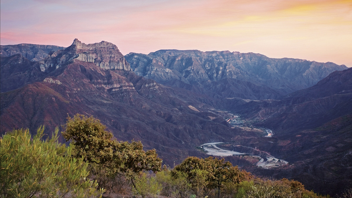 The Copper Canyon in Chihuahua