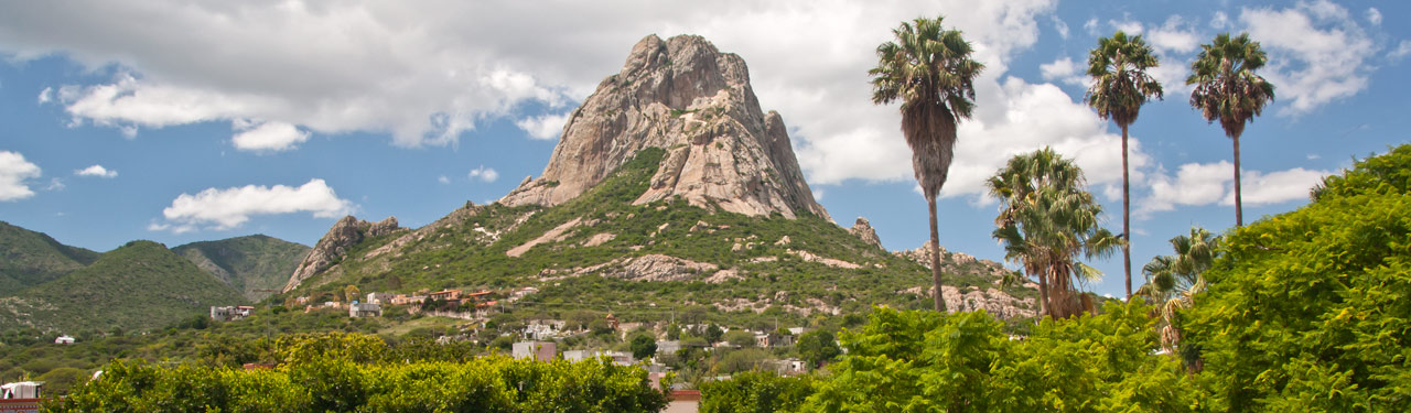 Peña de Bernal in Saltillo